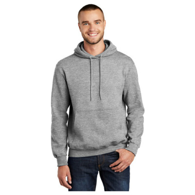 Hooded-Sweatshirt-AthleticHeather-PC90H-ModelFront