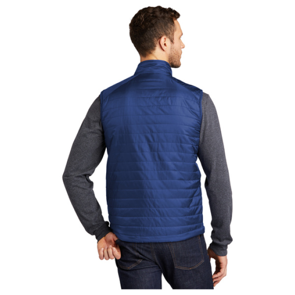 Men's Puffy Vest Back