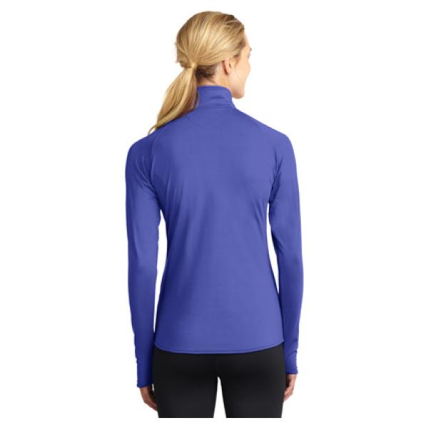 Ladies 1/4 Zip Pullover Back