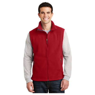 Mens Fleece Vest Front