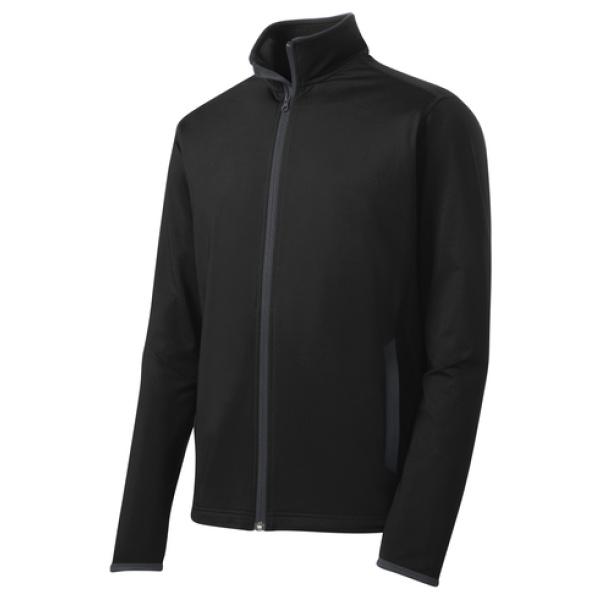 Charcoal Men's Full Zip Jacket