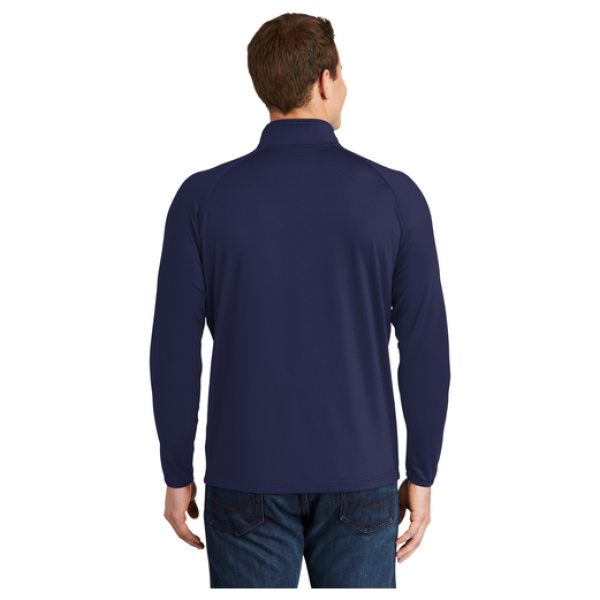 1/4 Zip Men's Pullover Back