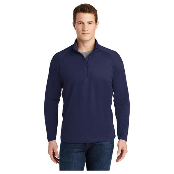 1/4 Zip Men's Pullover Front