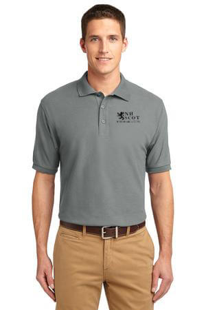 NHSCOT Mens Polo Black Logo