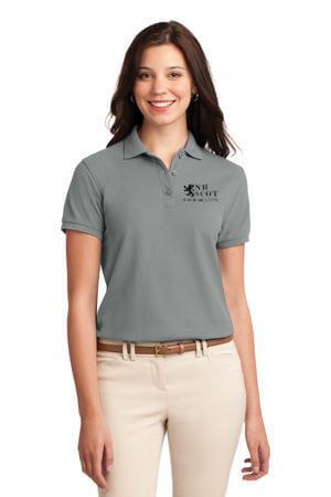 NHSCOT Womens Polo Black Logo