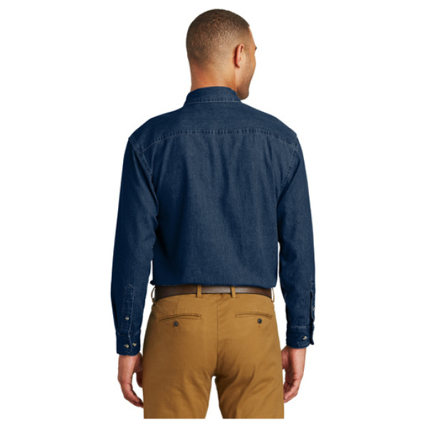 Men's Dark Denim Shirt